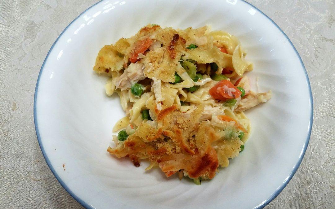 Turkey Noodle Soup Casserole