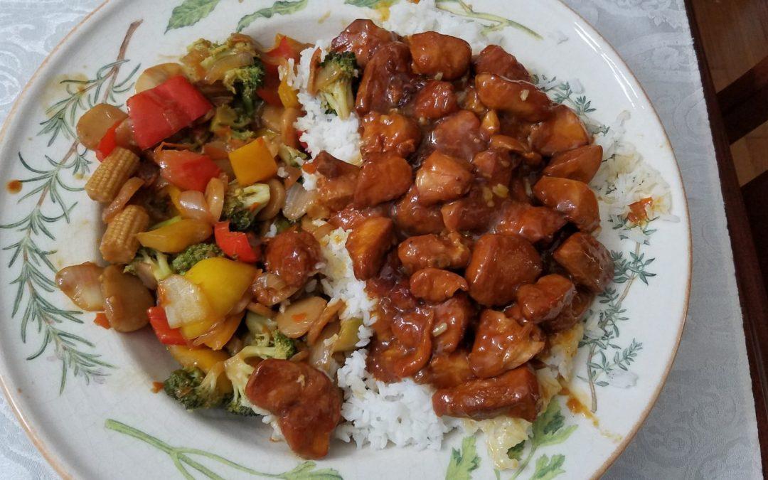 Stir Fried Vegetables and Sauce