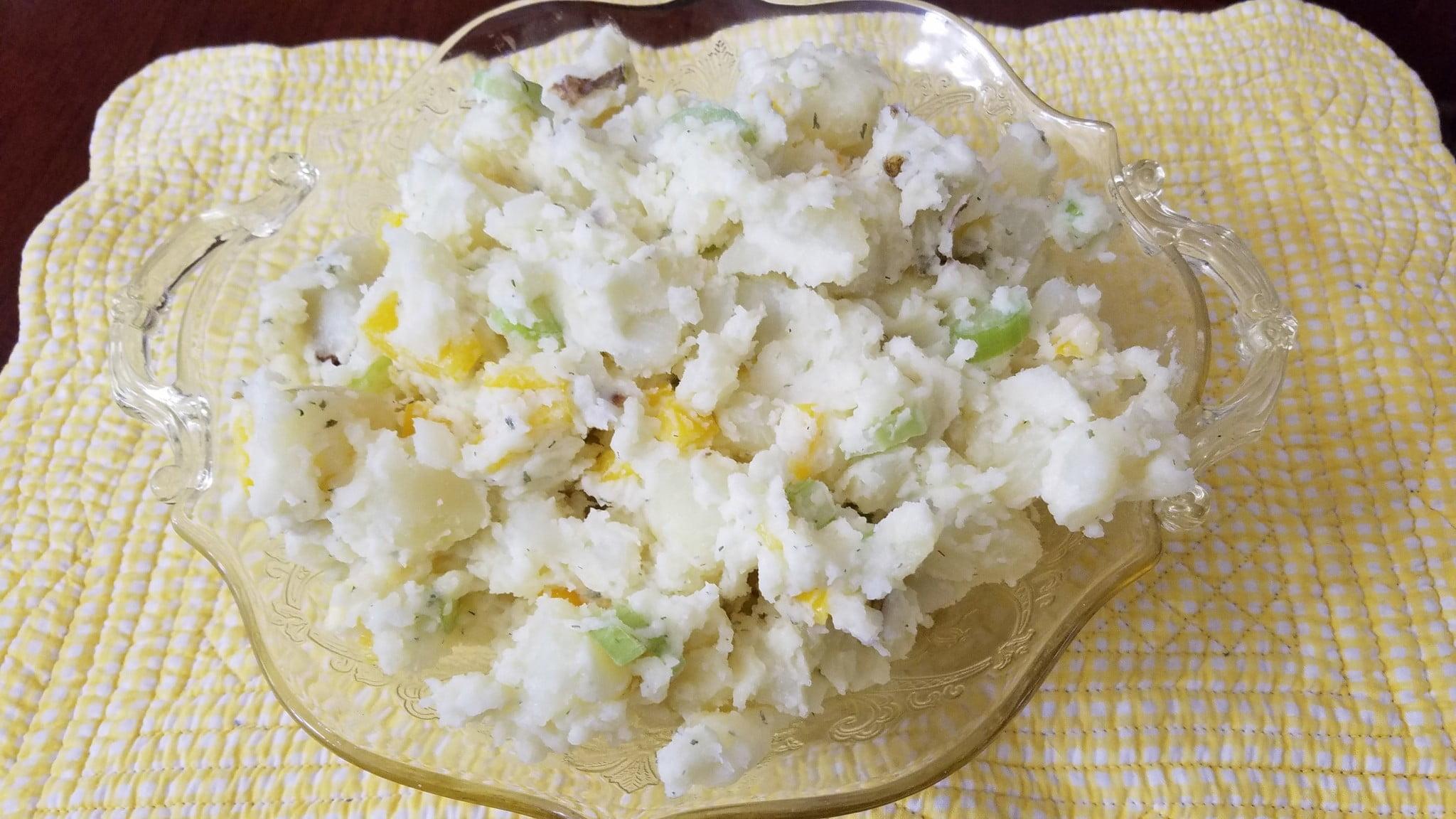 Smashed Potato Salad