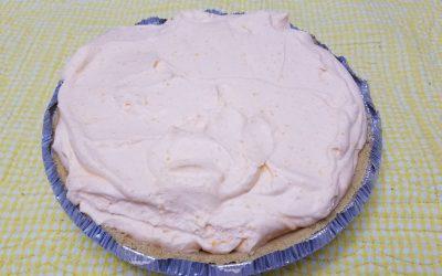 No Bake Creamsicle Pie
