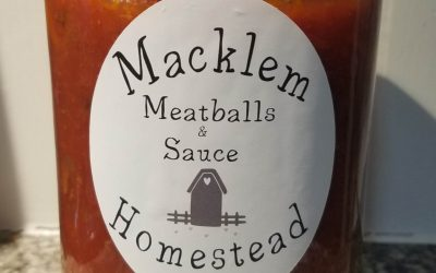 Home Canned Meatballs in Sauce