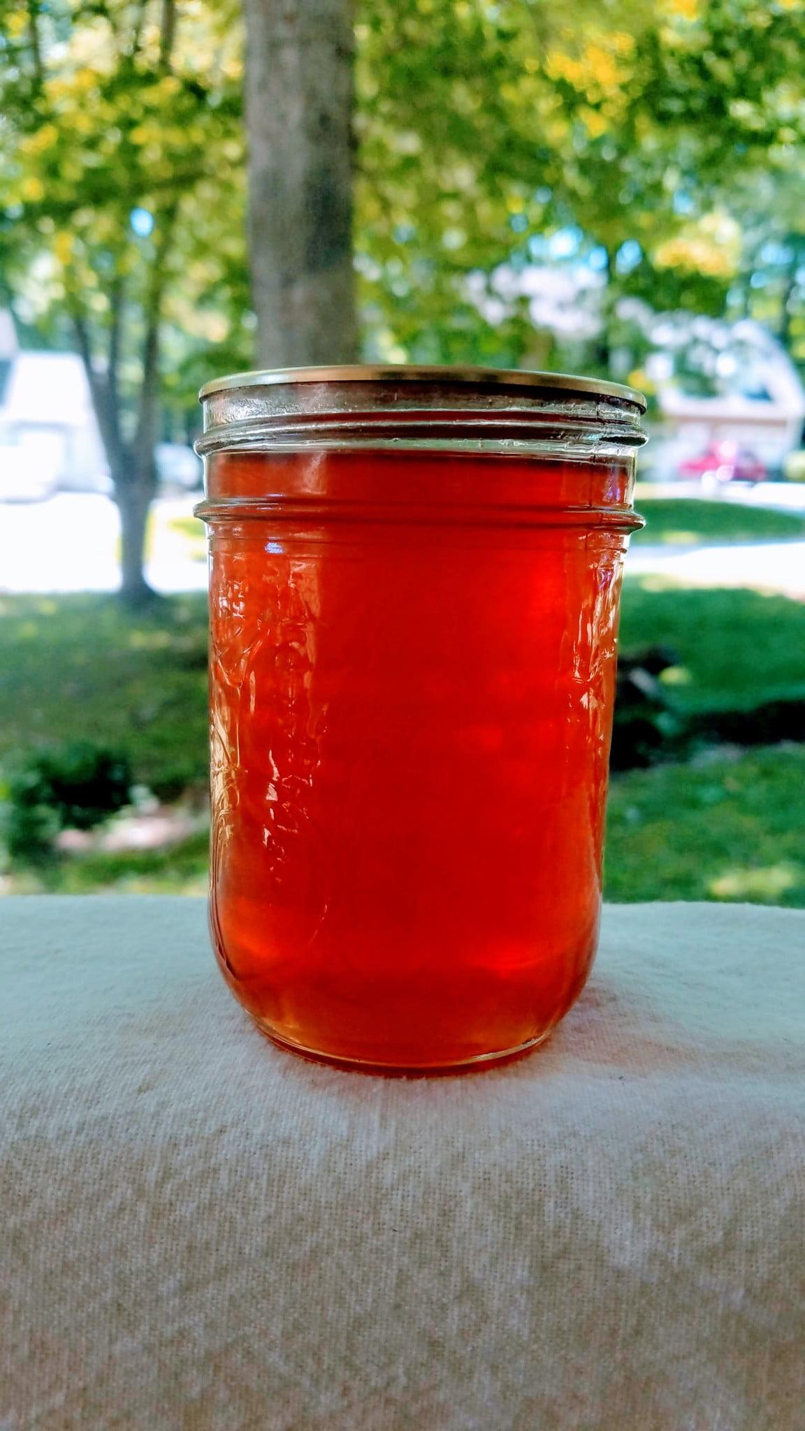 Peach Peel Syrup