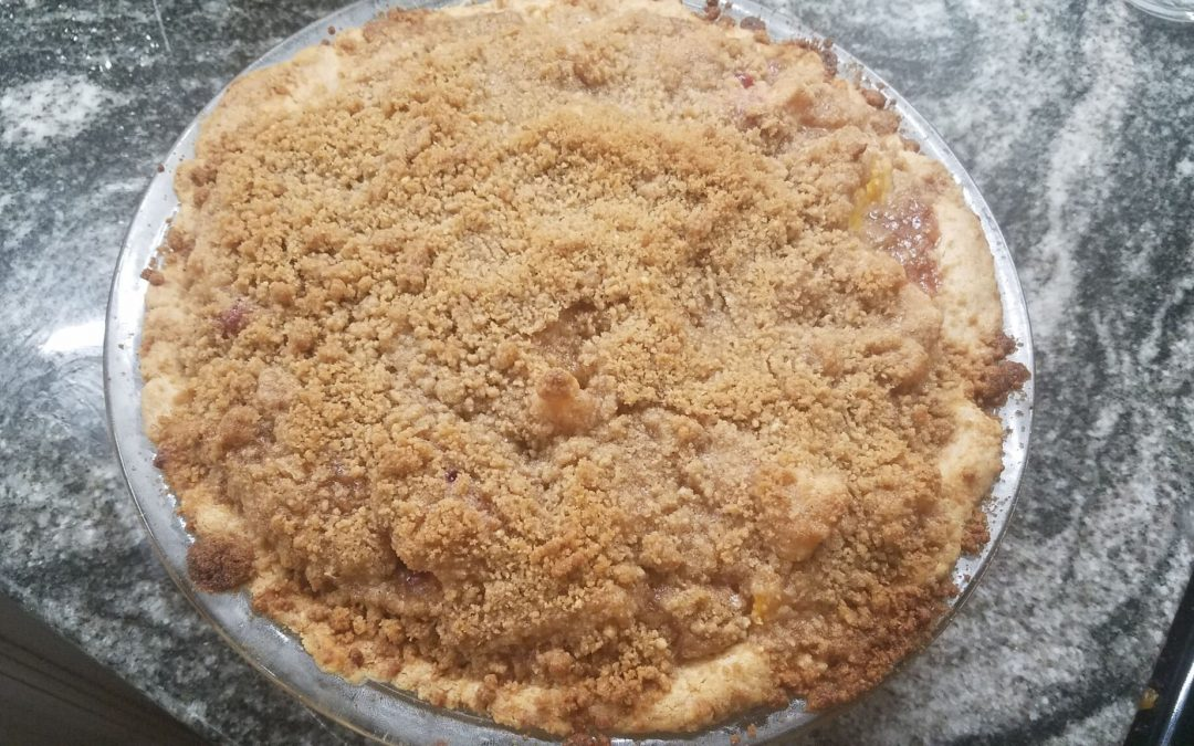 Quick and Easy Peach Pie