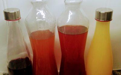 Fermenting Fruit Scraps for Vinegar