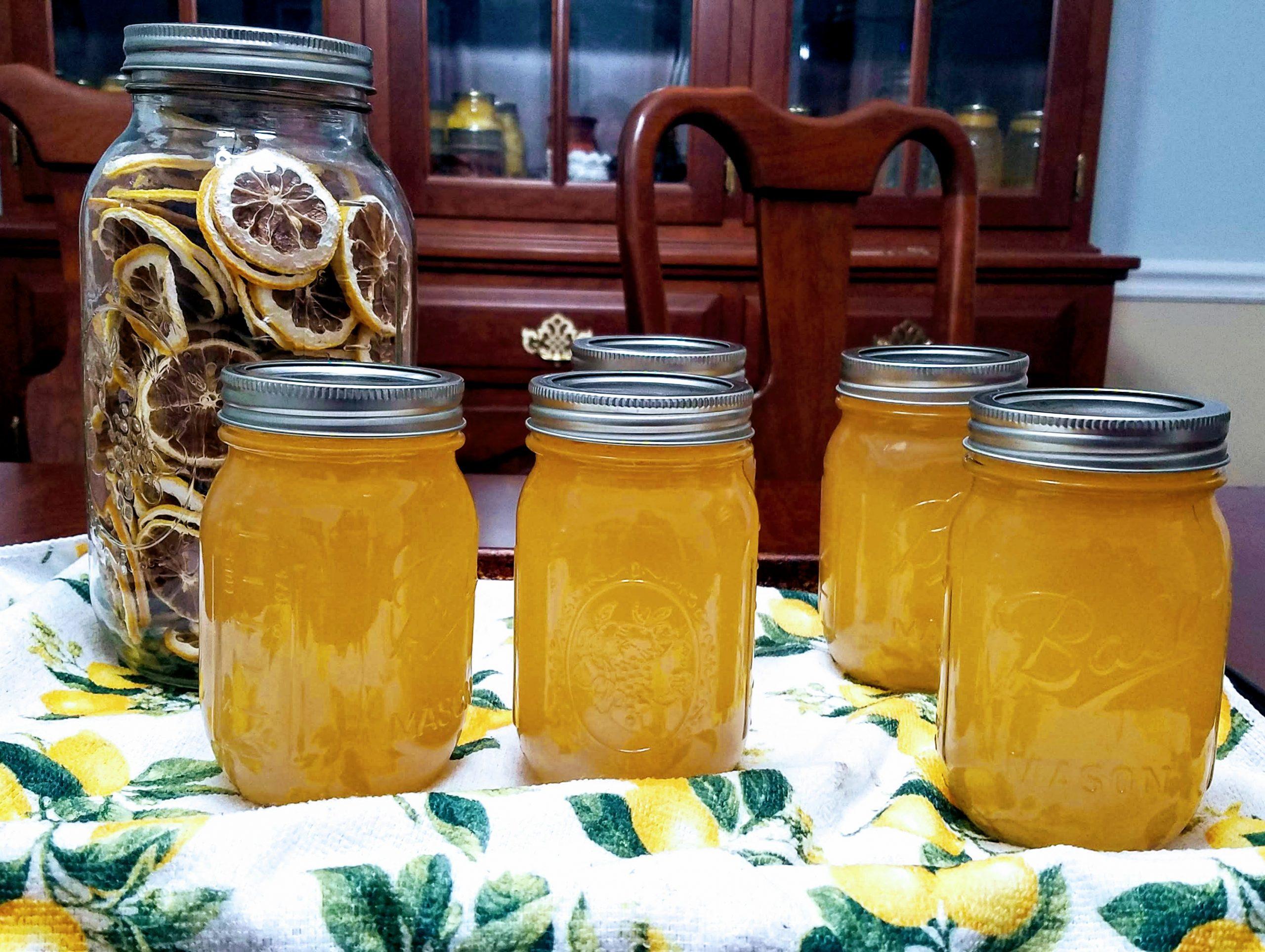 Home Canned Lemonade