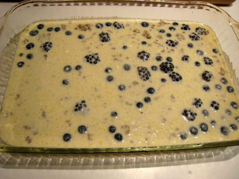 Blueberry Pancake Bake Mix
