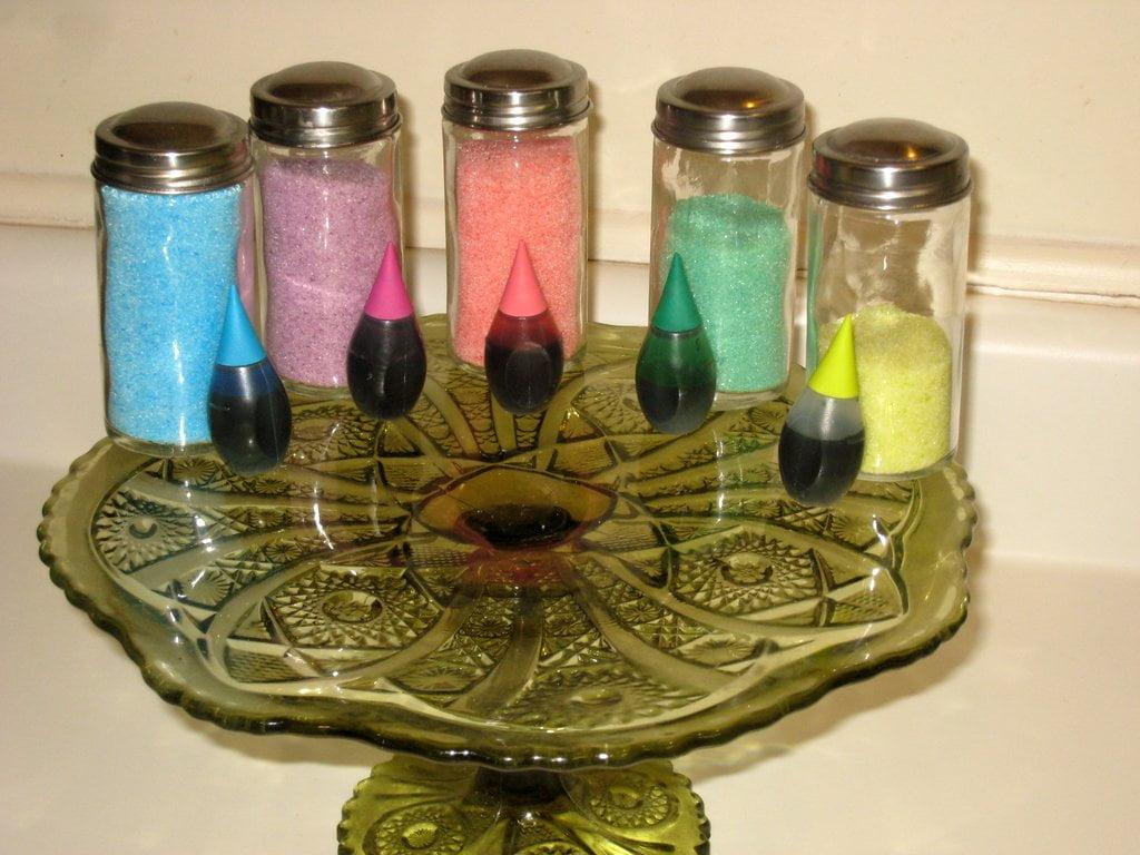DIY Colored Sugars