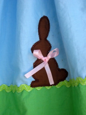 Easter Dress Applique