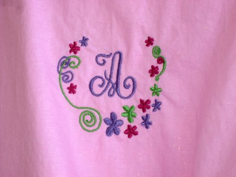 Easter Dress Embroidery