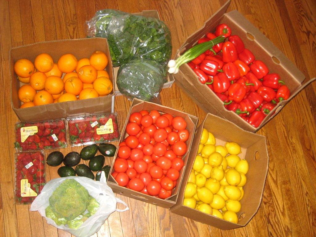 Buying Bulk Produce
