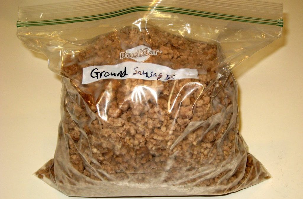 Homemade Cooked Sausage Crumbles – A Great Meal Helper