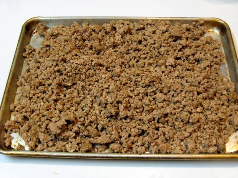 Ground Pork Sausage Crumbles