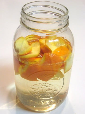 Homemade Orange Infused Vinegar