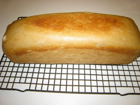 Homemade sandwich bread