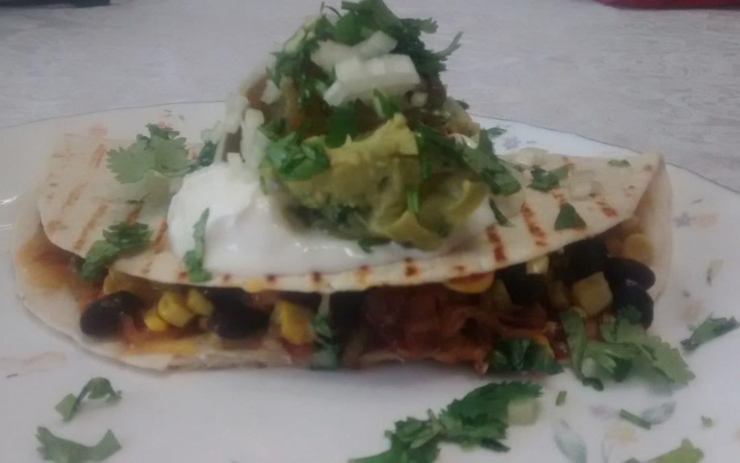 Southwestern Barbecue Quesadillas