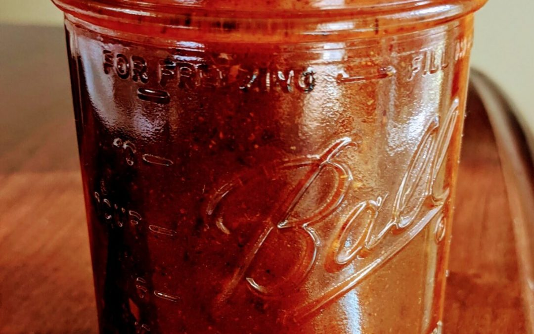 Home Canned Enchilada Sauce