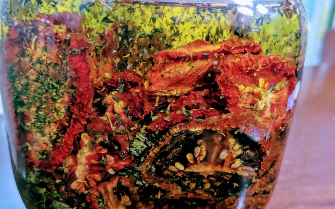 Shelf-Stable Sun Dried Tomatoes in Oil
