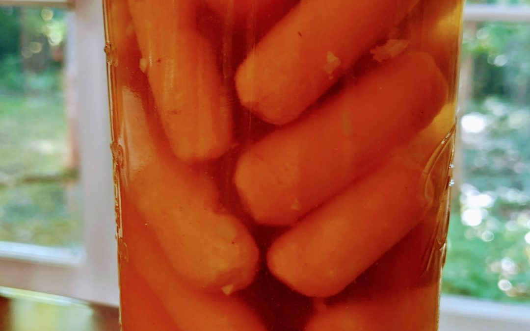Canning Baby Carrots