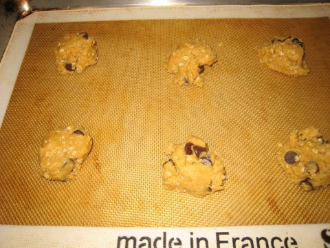 Peanut Butter Oatmeal Chocolate Chip Cookie Sheet