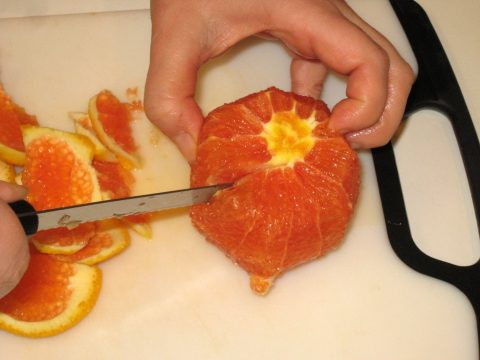 Sectioning and Orange