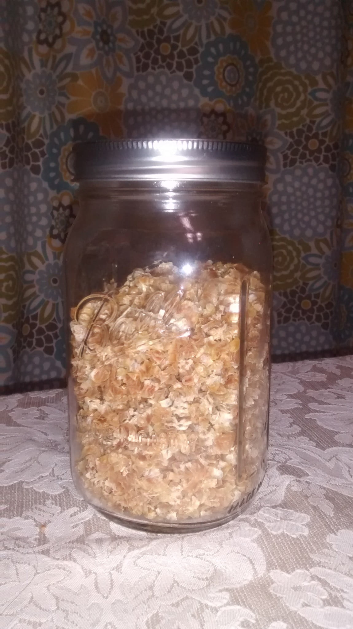 Dehydrating Corn