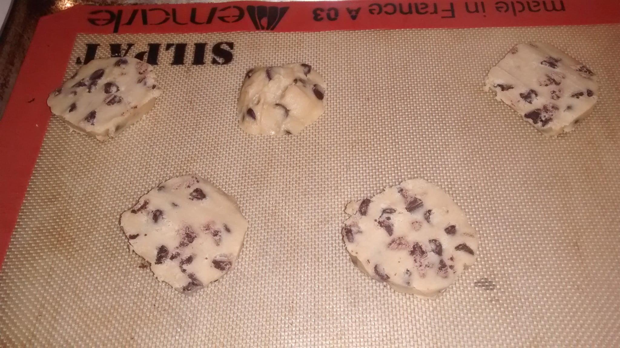 pillsbury cookie dough instructions