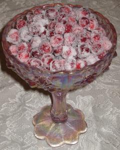 sugar-cranberries